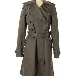 NWT Rebecca minkoff size M army trench coat